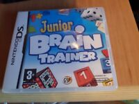 Ds game Junior brain trainer