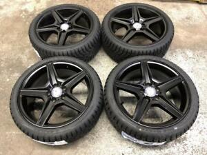 "18"" Mercedes Wheels 5x112 and Winter tire Package (Mercedes Cars) Calgary Alberta Preview"