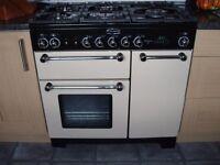 Rangemaster Kitchener 90 Dual fuel Cooker and Cooker Hood