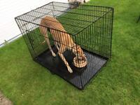 Sold!!!! Large dog cage - hardly used