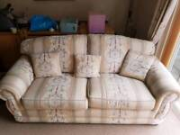 Sofa hardly used.