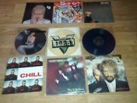 """35 x eurythmics vinyls LP's / 12""""/ picture discs / colour vinyls / 80's magazines"""