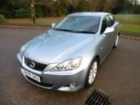 Lexus IS 250 SE-L Full Service History (blue metallic) 2009