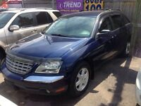 2004 Chrysler Pacifica 6 PASS AWD Alloys Power Memory Heated Sea