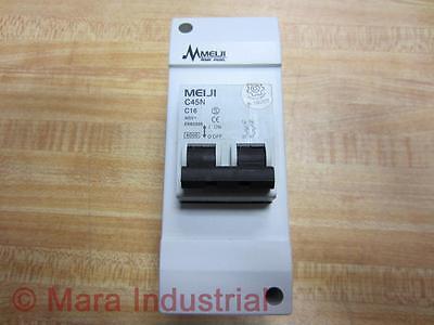 Meiji C45n C16 Circuit Breaker 400v 6000 Home Panel - New No Box