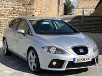 "✅ 58 SEAT LEON FR TDI 550 EDITION + WING BACK BUCKET SEATS + FSH + 18"" DRACO ALLOYS (AUDI A3/GOLF)"