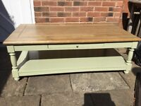Solid Oak Coffee Table (bought from Oka)