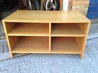TV bench/cabinet in light wood effect, IKEA
