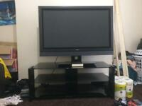 "50"" Hitachi HD TV and Stand"