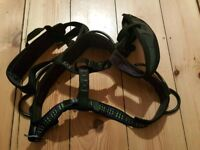 For sale is a Troll Xtrem climbing harness.