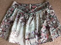 Ted Baker Size 4 Dragonfly Mini Skirt