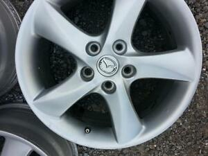 """4 mags MAZDA 17"""" BOLT 5X114.3mm"""