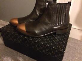 Melvin and Hamilton boots
