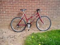 "RALEIGH, Ladies Mountain Bike, 20"" Frame, 26"" Alloy wheels, FULLY SERVICED.."