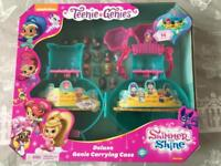 Shimmer & Shine Teenie Genies deluxe carry Case and figures
