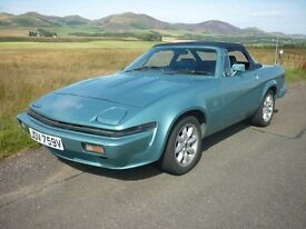 Triumph TR7 V8 3500 Convertible to TR8 Specification