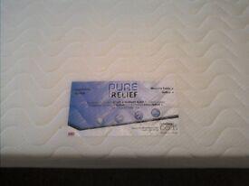 Memory foam double size mattress- NEW