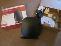 Belkin Wireless Surf N300 Router for ADSL Phone Connections : Excellent Condition