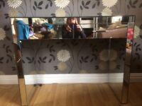 Mirrored dressing table, bargain at £60! Cost £275 new.. good condition