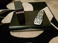 Sky HD box and broadband hub