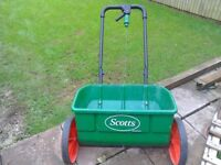 Seed spreader and leaf blower£20