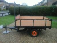 4.8ft x 6ft Trailer (converts to flatbed)