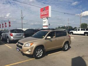 2009 Toyota RAV4 Limited; Leather, Roof, Push Button Start and M