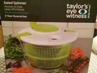 Brand new salad spinner still in box from John Lewis