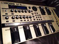 BOSS GT-6 Guitar Multi Effect Processor