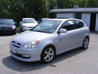 2007 Hyundai Accent SR $109 Bi Weekly Oac 3 Year Term
