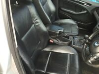 BMW e46 black leather seats from a 4 door car
