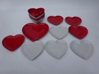 Heart shaped dinning set