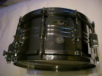 "Pearl 4914 Jupiter alloy snare drum 14 x 6 1/2"" - Japan - '70s - Ludwig Supersensitive homage"