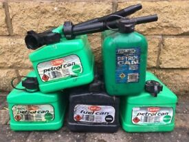 petrol/diesel Jerry can or take all 5 for £20