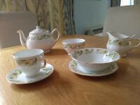 Duchess 'Greensleeves' Bone China Dinner Service for sale. £25