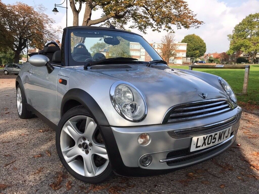 MINI Convertible 1.6 Cooper Heated Leather Seats,AUX,USB