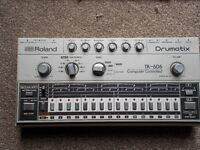 Roland Drumatix TR606 with case and original instructions nice condition