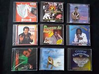 9 REGGAE CD ALBUMS ~ NEW and still in the original manufacturer's plastic wrapping