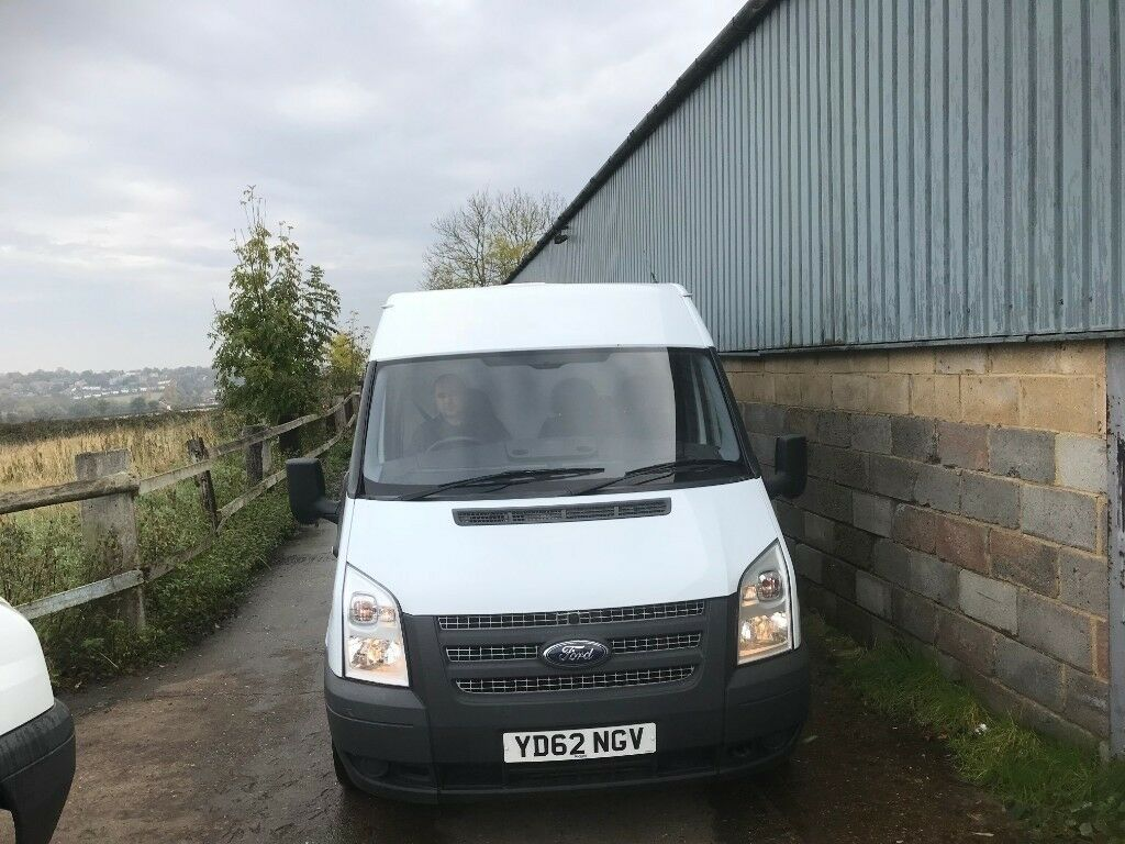 855b3416164b91 ford transit mwb fridge van.2012.new mot.1 owner.ready for work