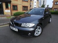 BMW 1 Series 2.0 120i SE AUTOMATIC 5dr£3995p/x welcome 6 MONTHS WARRANTY INCLUDED