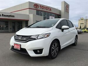 2015 Honda Fit EX-L|LEATHER|ROOF|NAV