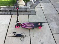 Electric scooter razor powercore e90 as new