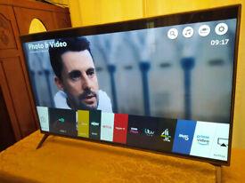 55'' LG ULTRA HD 4K SMART TV, 55UK6500PLA, perfect condition