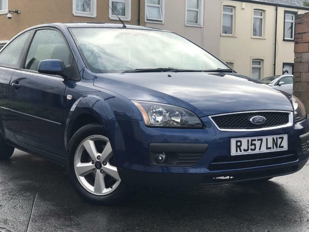 2008 FORD FOCUS 1.6 AUTOMATIC ZETEC 3 DOOR WITH SERVICE HISTORY 2 KEYS LOW MILEAGE