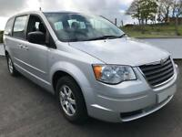 CHRYSLER GRAND VOYAGER CRD NEW MODEL 2009 ***12 MONTHS MOT***