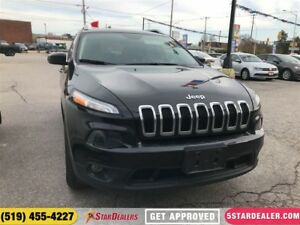 2016 Jeep Cherokee North | ONE OWNER | 4X4 | HEATED SEATS