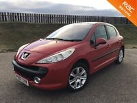 2007 PEUGEOT 207 SPORT 1.6 HDI 90PS - 81K MILES - F.S.H - £30 RFL - GREAT VALUE - 3 MONTHS WARRANTY