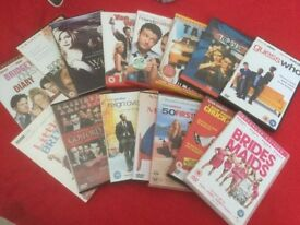 Bundle of 15 DVD's, watched
