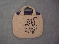 Ladies hand knitted hand bag