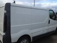 Manwith van for hire